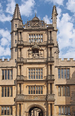 Oxford University, Bodleian Library Tower