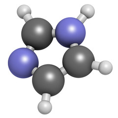Imidazole organic heterocyclic molecule.