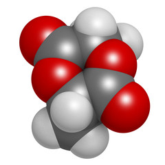 L-lactide PLA precursor molecule.