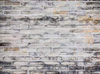 old brick wall, square format