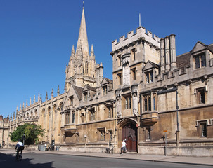 Oxford University, All Souls College, High Street