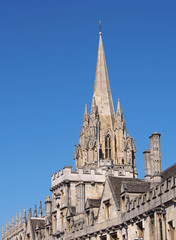Oxford University, St. Mary's Church Steeple