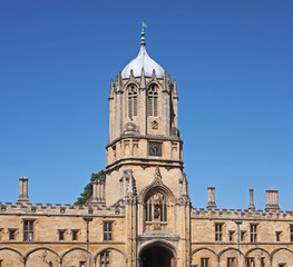 Oxford University, Tom Tower, Christ Church College