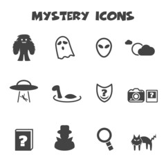 mystery icons