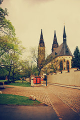 Cathedral of Saint Peter and Paul in Vysehrad
