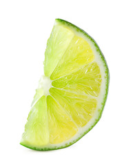 Bright lime slice