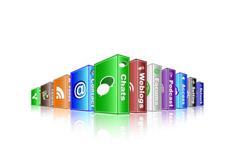 social media concept - chats 2