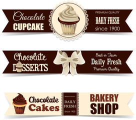 Chocolate bakery labels