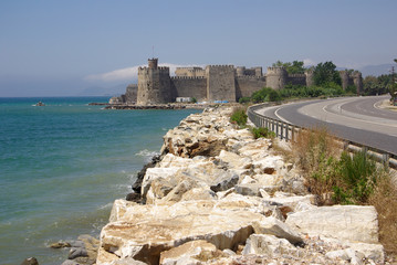 Mamure fortress in Turkey