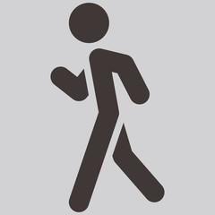 Heel-and-toe walk