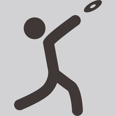 discus throw icon