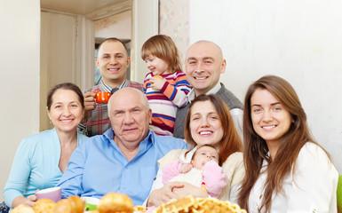 happy family communicate