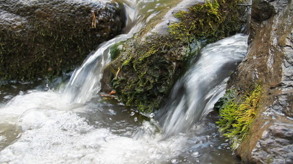 Small cascade on the river