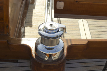 sailboat detail winch