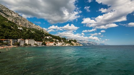 Small Village near Omis, Time-lapse, Dalmatia, Croatia