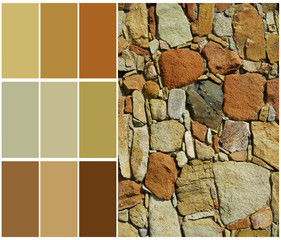 stone color chart sample