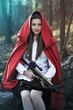 Dark fantasy Little red riding hood