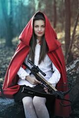 Dark fantasy Little red riding hood