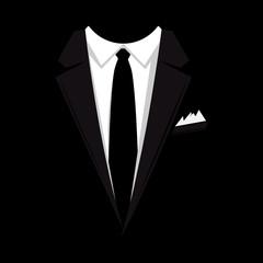 Hintergrund - Anzug schwarz