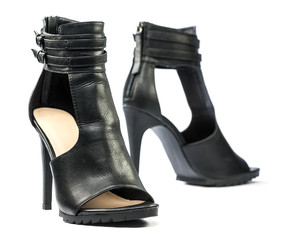 Extravagant High heels ankle boots for summer