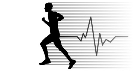 Jogger schwarz EKG