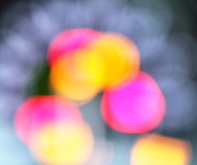 defocused colored  background
