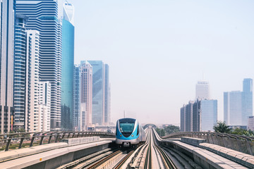 Metro line in Dubai, United Arab Emirates