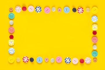 ボタン フレーム カラフル 背景素材