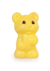 Children's plastic toy hamster
