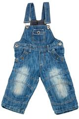 Children denim overalls