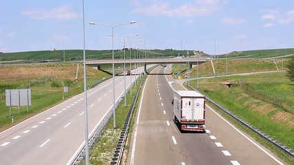 Higway in Serbia