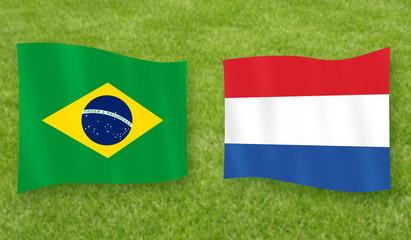 Spiel um Platz 3: Brasilien - Niederlande