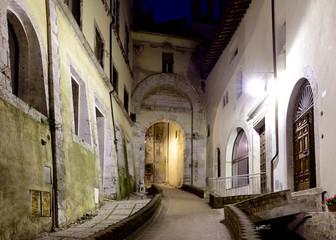 Porta Fuga, Spoleto, Umbria