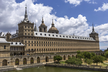 Monastery of San Lorenzo del Escorial. Madrid. Spain