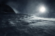 canvas print picture - Schneesturm