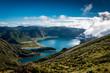 canvas print picture - Bergsee Natur Urlaub