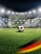 Deutscher Fußball im Stadion