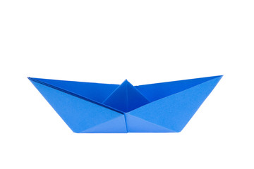 colorful paper boats