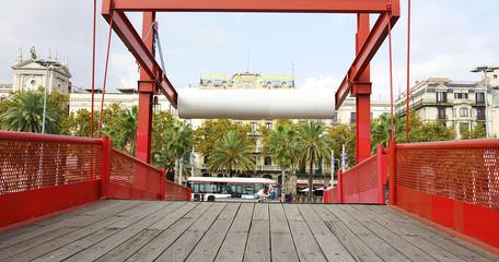 Puente levadizo del Moll de la Fusta, Barcelona