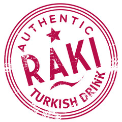 authentic turkish drink stamp