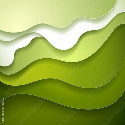 In grünen Schlafwellen