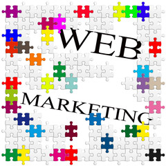 web marketing puzzle
