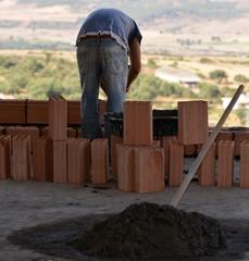 chantier...briquetage