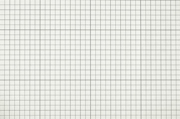 Old  graph paper square grid background.