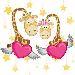 Lovers Giraffe