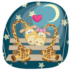 Lovers Giraffe