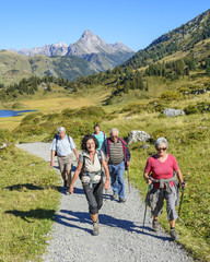 Bergwandern in Vorarlberg