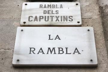 Rambla street, Barcelona