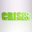 green Crisis sign
