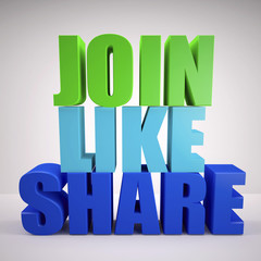 Join, like, share